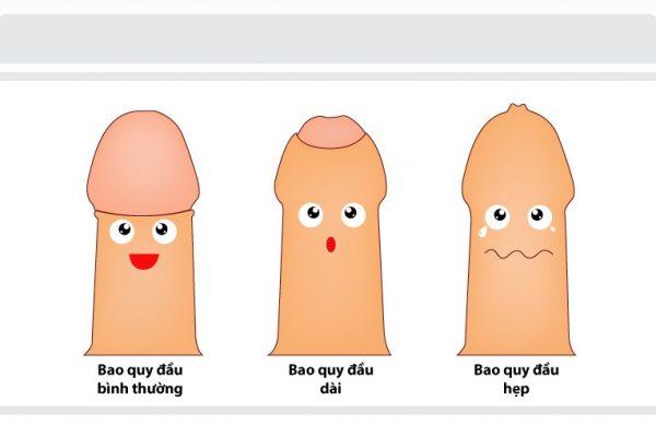 Như thế nào là dài bao quy đầu ở nam giới?