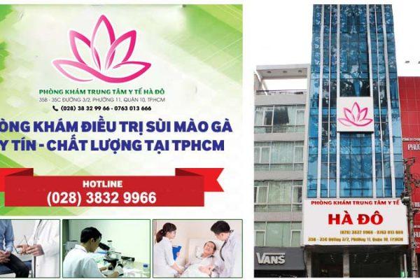 Phòng Khám Trung Tâm Y Tế Hà Đô – Ứng dụng thành công phương pháp điều trị sùi mào gà ALA – PDT mới 2020