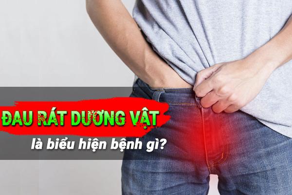 Nguyên nhân nam giới bị đau rát dương vật