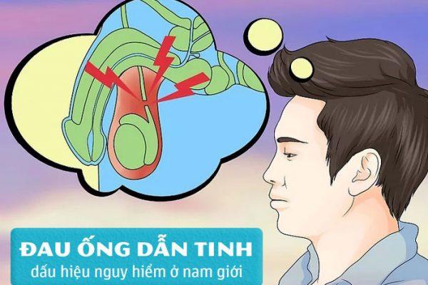 Đau ống dẫn tinh – dấu hiệu cảnh báo nam giới phải đi khám ngay