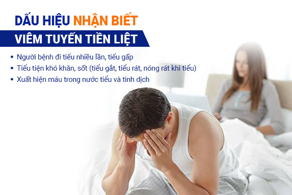 Dấu hiệu nhận biết bệnh viêm tuyến tiền liệt ở nam giới