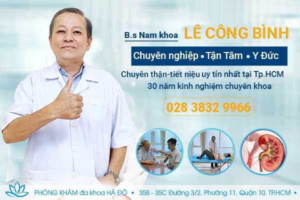 Bác sĩ bệnh viện 115 giỏi Lê Công Bình