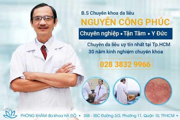 Bác Sĩ Bệnh Viện Đại Học Y Dược Giỏi Nguyễn Công Phúc