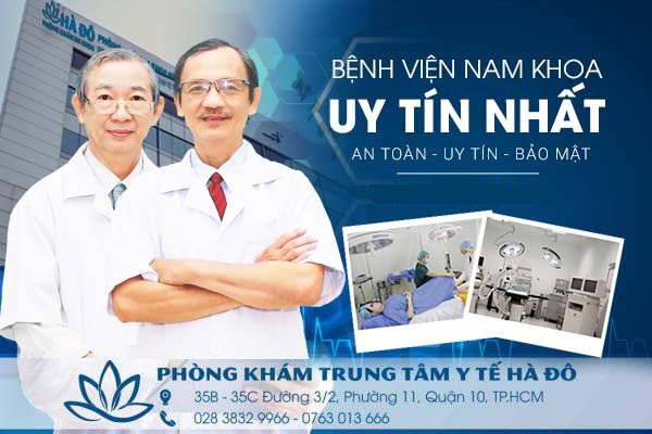 Bệnh viện nam khoa tốt chi phí hợp lí bác sĩ giỏi