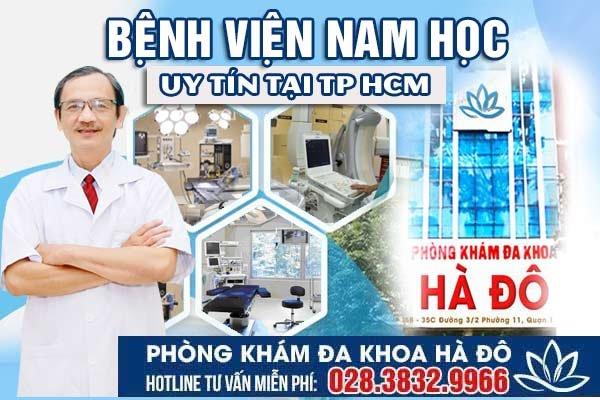 Bệnh viện nam học nào uy tín tại Tp HCM?